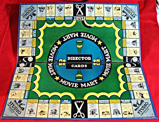 The board was changed somewhat for 1936, with the addition of various illustrations. The black backing was changed to blue.